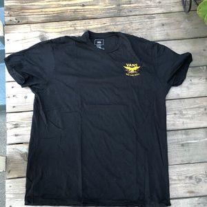 Vans black T-shirt